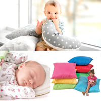 Подушка и младенец: когда начинать пользоваться и как это делать безопасно?